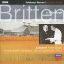 BRITTEN AT ALDEBURGH PIANO DUETS/W/SVIATOSLAV RICHTER, BENJAMIN BRITTEN