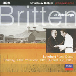 BRITTEN AT ALDEBURGH PIANO DUETS/W/SVIATOSLAV RICHTER, BENJAMIN BRITTEN Audio CD, F. SCHUBERT, CD