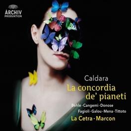 LA CONCORDIA DE PIANETI ANDREA MARCON A. CALDARA, CD
