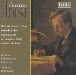 SUITE DE BALLET IN E.. FLAT/SUITES NOS 1&2 OP.28 HAMPSHIRE SUITE/LPO/BRAITHWAI Audio CD, GUSTAV HOLST, CD