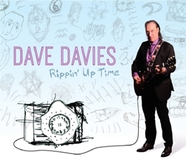 RIPPIN' UP TIME *2014 ALBUM BY KINKS FOUNDER/LEAD GUITARIST* DAVE DAVIES, CD