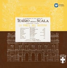 LA FORZA DEL.. -DIGI- MARIA CALLAS/LA SCALA MILAN (1954)/SERAFIN/TUCKER G. VERDI, CD