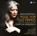 MUSIC FOR TWO PIANOS MARTHA ARGERICH/NELSON GOERNER/LILYA ZILBERSTEIN...