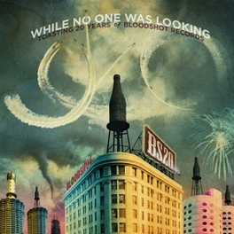 WHILE NO ONE WAS LOOKING * TOASTING 20 YEARS OF BLOODSHOT RECORDS * V/A, CD