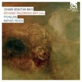 KOTHENER TRAUERMUSIK BWV2 ENSEMBLE PYGMALION/RAPHAEL PICHON J.S. BACH, CD