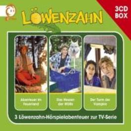 LOWENZAHN HORSPIELBOX V.1 Folge 1-3 (Abenteuer im Feuerland / Das Heulen der Wölfe / Der Turm der Vampire), AUDIOBOOK, CD