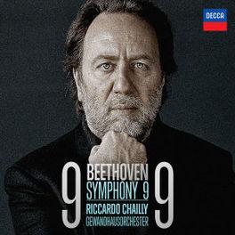 SYMPHONY NO.9 GEWANDHAUSORCH.LEIPZIG/RICCARDO CHAILLY L. VAN BEETHOVEN, CD