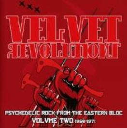 VELVET REVOLUTION VOL.2.. .. 1968-1971, PSYCHEDELIC ROCK FROM THE EASTERN BLOC V/A, CD