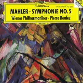 SYMPHONY NO.5 W/CHICAGO SYMPHONY ORCH., PIERRE BOULEZ Audio CD, G. MAHLER, CD