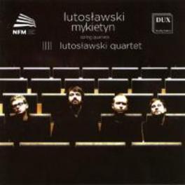 STRING QUARTETS LUTOSLAWSKI QUARTET, CD