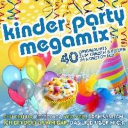 KINDER PARTY MEGAMIX V/A, CD