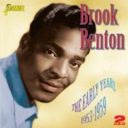 EARLY YEARS 1953-1959 BROOK BENTON, CD