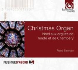 NOELS A L'ORGUE RENE SAORGIN, CD