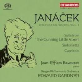 ORCHESTRAL WORKS 1 BERGEN P.O./EDWARD GARDNER L. JANACEK, CD