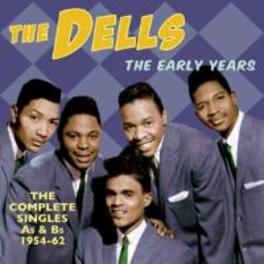 EARLY YEARS COMPLETE SINGLES AS & BS 1954-62 DELLS, CD