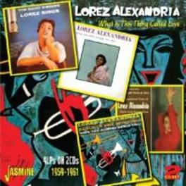 WHAT IS THIS THING.. .. CALLED LOVE // 4LP'S ON 2CD'S 1959-1961 LOREZ ALEXANDRIA, CD