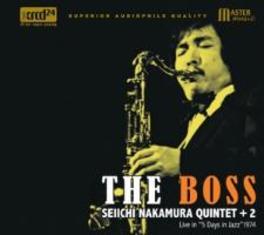 THE BOSS SEIICHI NAKAMURA-QUINTET-, CD