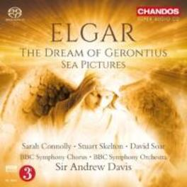 DREAM OF GERONTIUS BBC SYMPHONY ORCHESTRA/ANDREW DAVIS E. ELGAR, CD