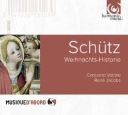 WEIHNACHTSHISTORIE CONCERTO VOCALE/RENE JACOBS H. SCHUTZ, CD