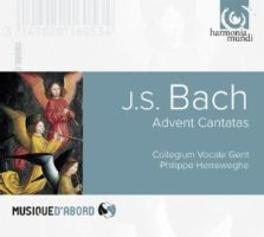 ADVENTSKANTATEN COLLEGIUM VOCALE GENT/PHILIPPE HERREWEGHE J.S. BACH, CD