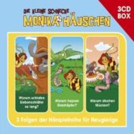 DIE KLEINE SCHNECKE BOX 4 .. MONIKA HAUSCHEN HORSPIELBOX VOL.4 Folge 10-12 (Warum schlafen Siebenschläfer so lang? / Warum hopsen Grashüpfer? / Warum stechen Mücken?), AUDIOBOOK, CD