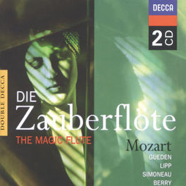 DIE ZAUBERFLOTE GUEDEN/LIPP/KARL BOHM Audio CD, W.A. MOZART, CD