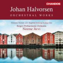 ORCHESTRAL WORKS VOL.1-4 BERGEN P.O./NEEME JARVI J. HALVORSEN, CD