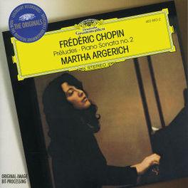 PIANO SONATA 2 W/MARTHA ARGERICH Audio CD, F. CHOPIN, CD