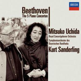 UCHIDA PLAYS BEETHOVEN /KURT SANDERLING Audio CD, L. VAN BEETHOVEN, CD