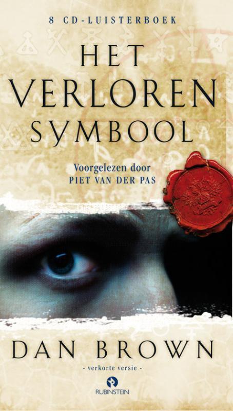 Het verloren symbool DAN BROWN 8 CD Luisterboek vpprgelezen door Piet van der Pas, Dan Brown, CD