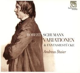 VARIATIONS & FANTASIESTUC ANDREAS STAIER R. SCHUMANN, CD