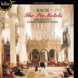 SIX MOTETS HARRY CHRISTOPHERS/SIXTEEN J.S. BACH, CD