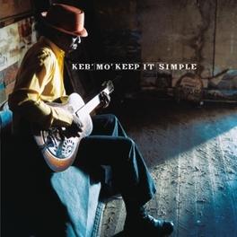 KEEP IT SIMPLE -HQ- 180GR. AUDIOPHILE VINYL/INCL. INSERT/1ST.TIME ON VINYL KEB'MO, Vinyl LP