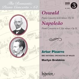 ROMANTIC PIANO CONCERTO.. BBC NAT.ORCH.OF WALES/MARTYN BRABBINS/PIZARRO OSWALD/NAPOLEAO, CD