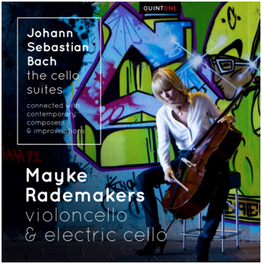 CELLO SUITES MAYKE RADEMAKERS ON VIOLONCELLO & ELECTRIC CELLO J.S. BACH, CD