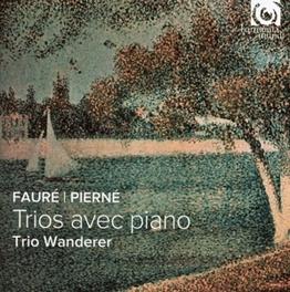 PIANO TRIOS TRIO WANDERER FAURE/PIERNE, CD
