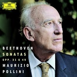 PIANO SONATAS OPP.31 & 49 MAURIZIO POLLINI L. VAN BEETHOVEN, CD