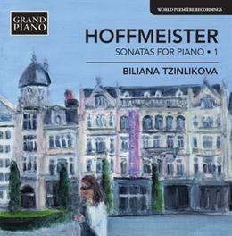 SONATAS FOR PIANO VOL.1 BILIANAA TZINLIKOVA A. HOFFMEISTER, CD