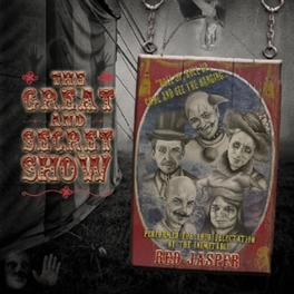 GREAT AND SECRET SHOW FOLK/ROCK BAND IN STYLE JETHRO TULL/MARILLION RED JASPER, CD
