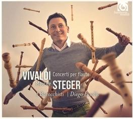 CONCERTI PER FLAUTO MAURICE STEGER/DIEGO FASOLIS A. VIVALDI, CD