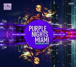 PURPLE NIGHTS MIAMI V/A, CD