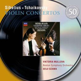 VIOLIN CONCERTOS W/MULLOVA, B.S.O., OZAWA Audio CD, SIBELIUS/TCHAIKOVSKY, Audio Visuele Media