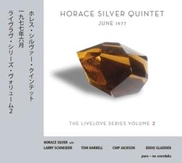 JUNE 1977 - LIVELOVE.. .. SERIES 2 SILVER, HORACE -QUINTET-, CD