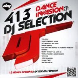 DJ SELECTION 413 DANCE INVASION VOL.121 V/A, CD
