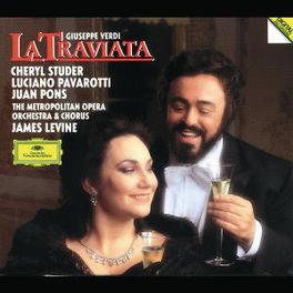 LA TRAVIATA W/STUDER, PAVAROTTI, JAMES LEVINE-CONDUCTS Audio CD, G. VERDI, CD