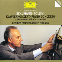 PIANO CONCERTS/ETUDES -POLLINI/BERLINER PHILHARMONIC/CLAUDIO ABBADO Audio CD, R. SCHUMANN, CD