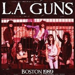BOSTON 1989 L.A. GUNS, CD