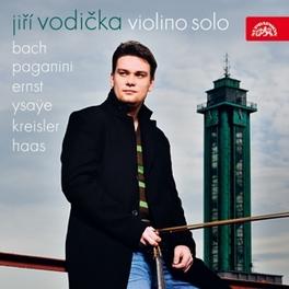 VIOLINO SOLO JIRI VODICKA, CD
