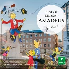 AMADEUS FOR KIDS W.A. MOZART, CD