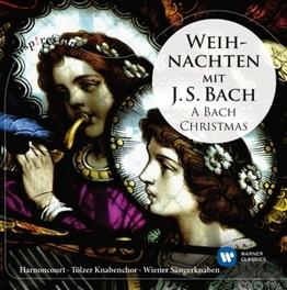 A BACH CHRISTMAS.. NIKOLAUS HARNONCOURT/GUSTAV LEONHARDT J.S. BACH, CD